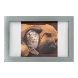 Contentment with a Bestfriend Rectangular Belt Buckle