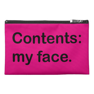 Contents: My Face. Bag