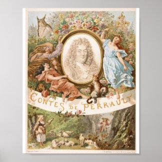 Contes de Perrault (8 x 10 pulgadas; Ca 20 X.25 cm Posters