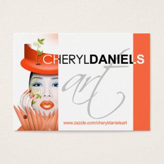 CONTEST: Cheryl Daniels Art Profile Business Card