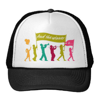 Contest Winner Mesh Hat