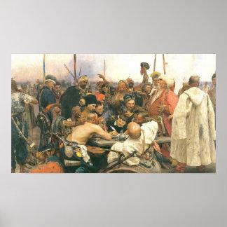 Contestación de los Cossacks Poster