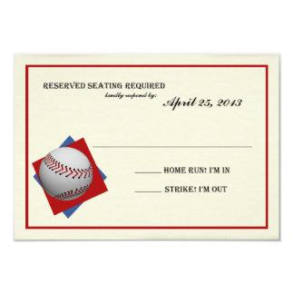 Contestación de Mitzvah de la barra del béisbol Anuncio Personalizado