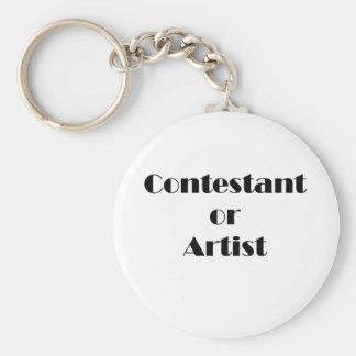 Contestant Or Artist Keychain