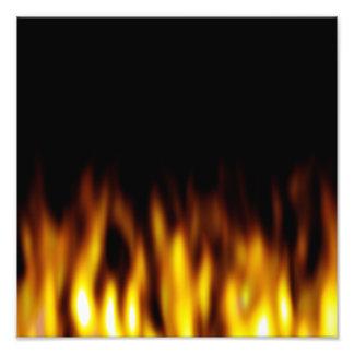 Contexto caliente ardiente de las llamas cojinete