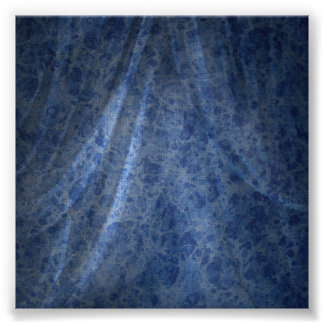 Contexto de lino azul de la foto posters