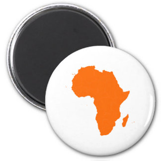 Continent of Africa Magnet