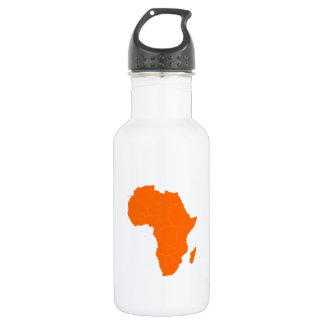Continent of Africa 18oz Water Bottle