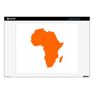 Continent of Africa Skins For Laptops