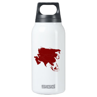 Continent of Asia 10 Oz Insulated SIGG Thermos Water Bottle