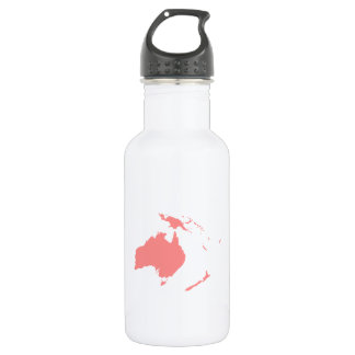 Continent of Australia 18oz Water Bottle