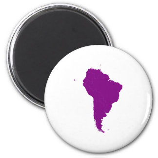 Continent of South America Magnet