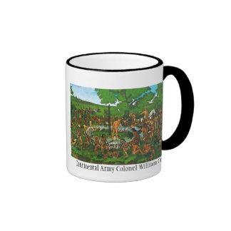 Continental Army Colonel William Crawford Ringer Coffee Mug