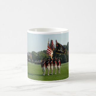 Continental Color Guard of The Old Guard Classic White Coffee Mug