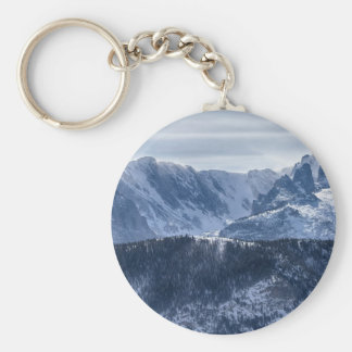 Continental Divide CO Rocky Mountains National Par Key Chain