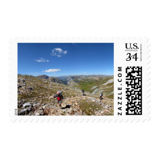 Continental Divide - Colorado Trail Postage Stamp