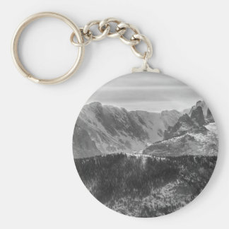 Continental Divide Rocky Mountains National Park Keychain
