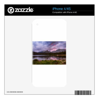 Continental Divide Stormy Rainy Sunset Sky Decal For The iPhone 4