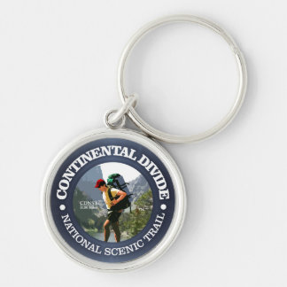 Continental Divide Trail (Hiker C) Keychain