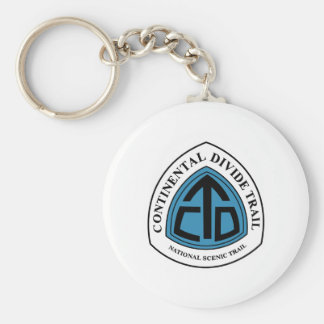 Continental Divide Trail Sign, USA Keychain