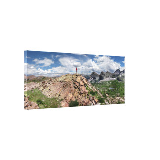 Continental Divide Weminuche Wilderness Colorado 3 Canvas Print