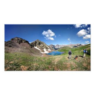 Continental Divide Weminuche Wilderness Colorado 4 Photo Print