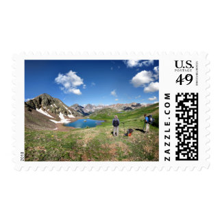 Continental Divide Weminuche Wilderness Colorado 4 Postage Stamp