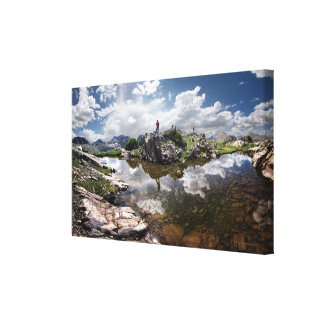 Continental Divide - Weminuche Wilderness Colorado Canvas Print