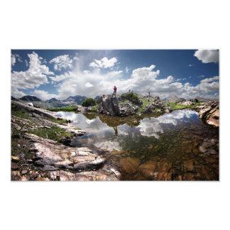 Continental Divide - Weminuche Wilderness Colorado Photo Print