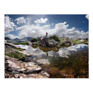Continental Divide - Weminuche Wilderness Colorado Postcard