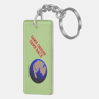 """Continental drift"" anti-racism keychain"