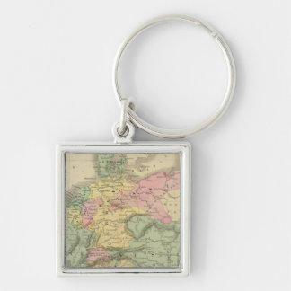 Continental Europe Keychain