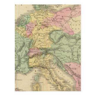 Continental Europe Postcard