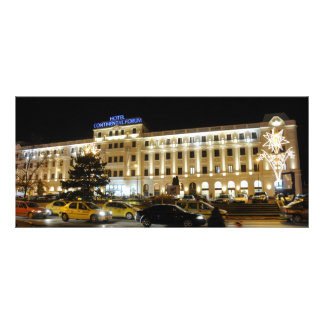 Continental Forum hotel, Sibiu Rack Card