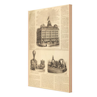 Continental Life Insurance Company Canvas Print