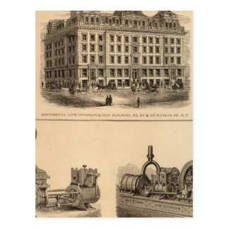 Continental Life Insurance Company Post Card