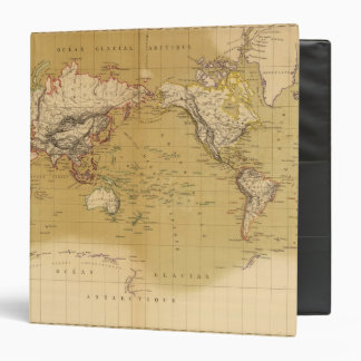 Continental Map 3 Ring Binder