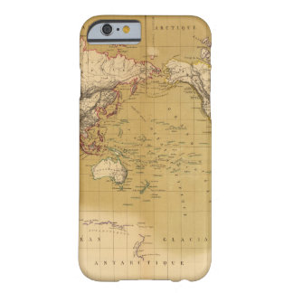 Continental Map Barely There iPhone 6 Case