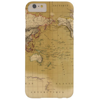 Continental Map Barely There iPhone 6 Plus Case
