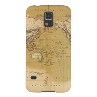 Continental Map Case For Galaxy S5