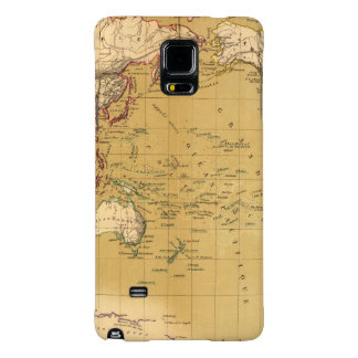 Continental Map Galaxy Note 4 Case