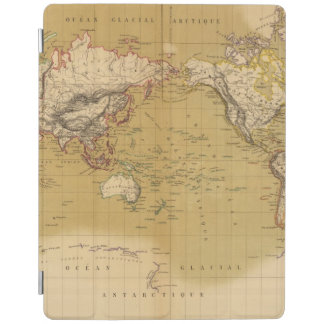 Continental Map iPad Smart Cover