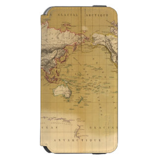 Continental Map iPhone 6/6s Wallet Case