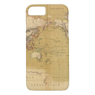 Continental Map iPhone 7 Case
