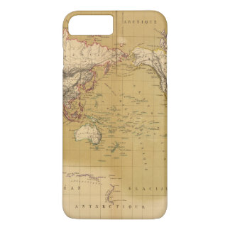 Continental Map iPhone 7 Plus Case