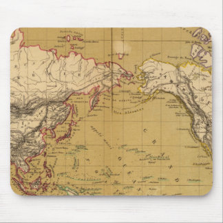 Continental Map Mouse Pad