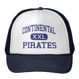 Continental - Pirates - High - Continental Ohio Trucker Hats