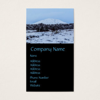 Continental plates in Iceland Business Card