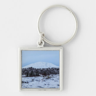 Continental plates in Iceland Keychain