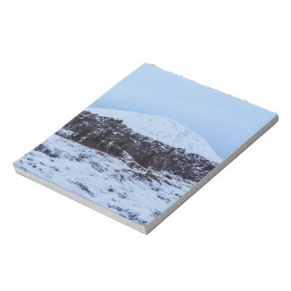 Continental plates in Iceland Notepad